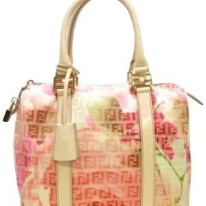 Fendi Monogram Floral FF Forever Boston 228031